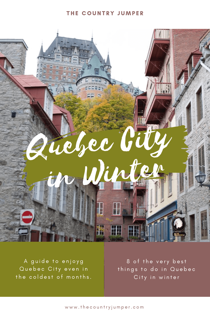 Quebec City Pin