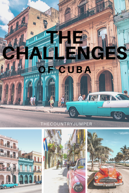 Traveling to Cuba will be an excellent experience, it's a terrific country with so much to offer. But, there are many challenges to navigating a country which has restrictions and an embargo, especially for visitors from The United States. #travelcuba #cubatravel #traveltips