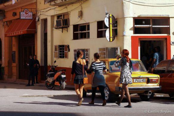 Women on the street