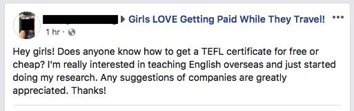 cheap celt cert question on facebook