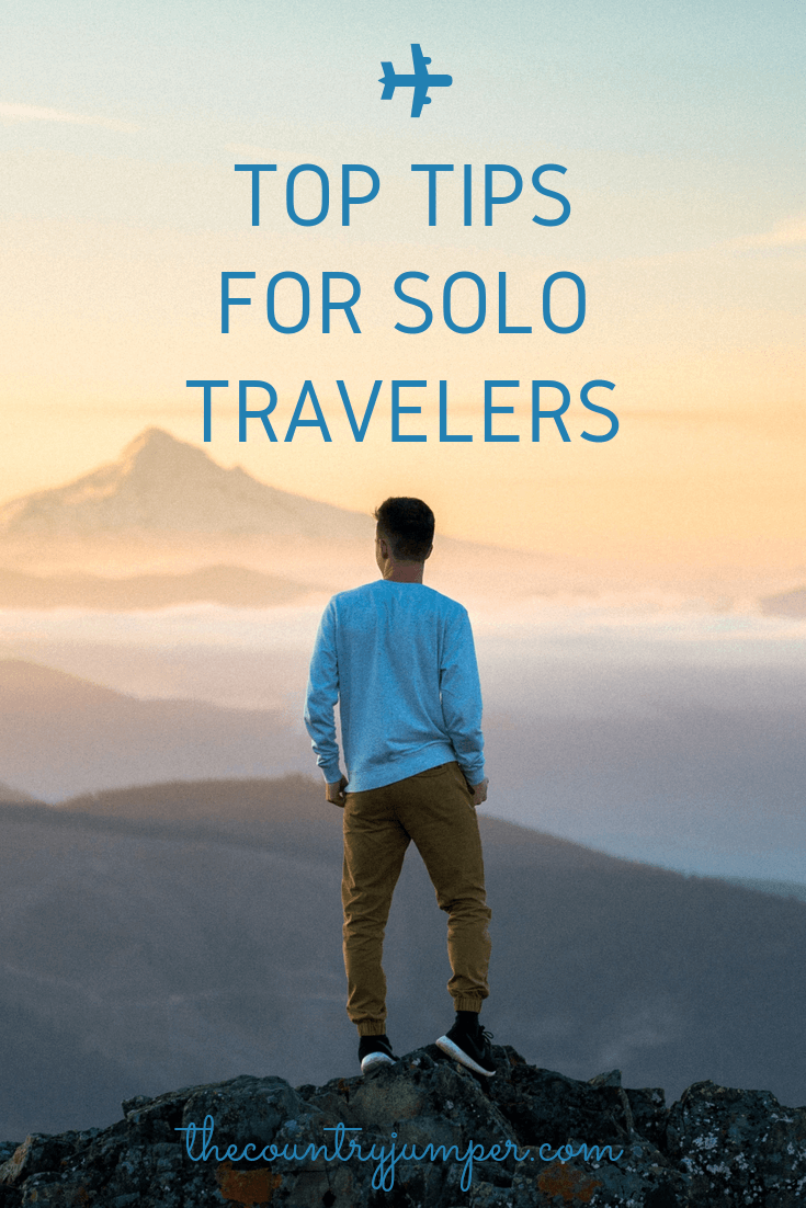 Top trips for solo travelers pin