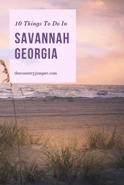 If you're planning a trip to Savannah, Georgia you should take a look at some of the best things to do in the city. From walking along the river to learning more about the history of Savannah, check out the top ten things to do in Savannah, Georgia. #savannah #georgia #usatraveltips