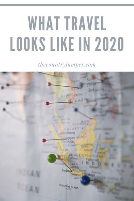 If you're traveling in 2020 you might want to look at things like vegan specific travel, hitchhiking, or wellness retreats. instagram is still a part of the reality but some people are moving away from the hotspots and exploring spots like the 'Stans or the Mid East.