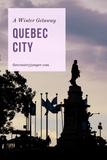 Are you planning a trip to Canada in winter? Have you considered a stop in Quebec City? Form the winter carnival to tobogganing, there is plenty to do in the city to keep you warm and busy. So, read for more tips on what to do in Quebec City in winter. #canadatravel #quebeccity #traveltips