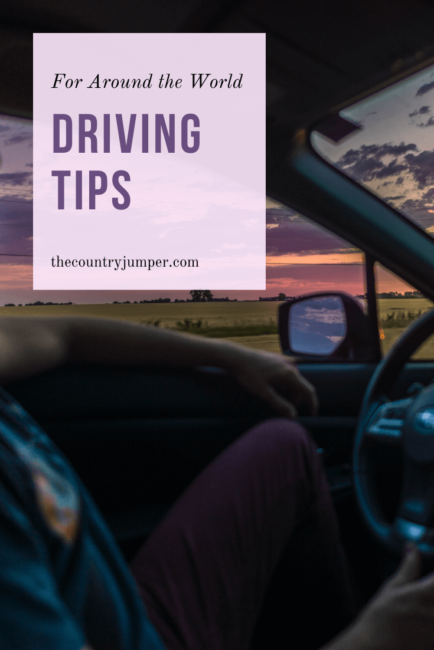 You might be the most confident driver at home, but have you driven abroad? There are lots of things to think about before renting a car in a different country. Click to read through a list of tips to make sure you stay safe driving around the world. #drivingtips #drivingaroundtheworld #traveltips