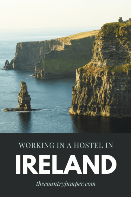 Working abroad is an excellent opportunity to experience local culture. If you're doing it as part of a longer trip or just for the short term you should consider doing a work exchange. Many hostels offer room and some board in exchange for a few hours each day helping out in the hostel. This is a great way to explore and meet new people! #ireland #workabroad #workexchange
