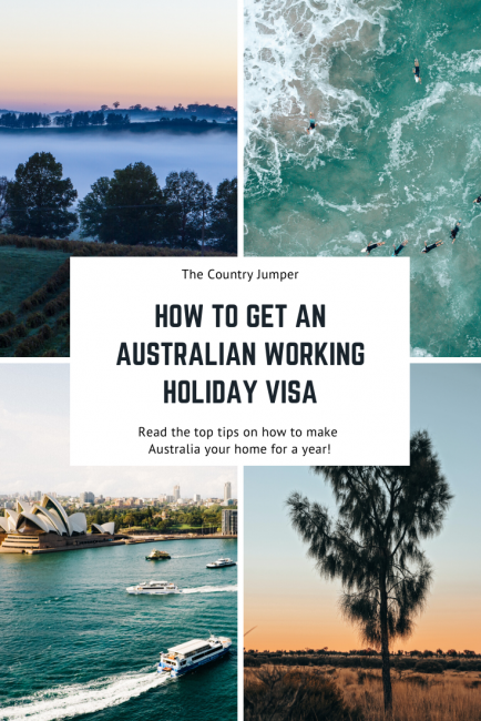Tips for how the process of acquiring a working holiday visa to allow you to live and work in Australia for a year or longer including health checks and possible jobs